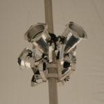 center pole par lights
